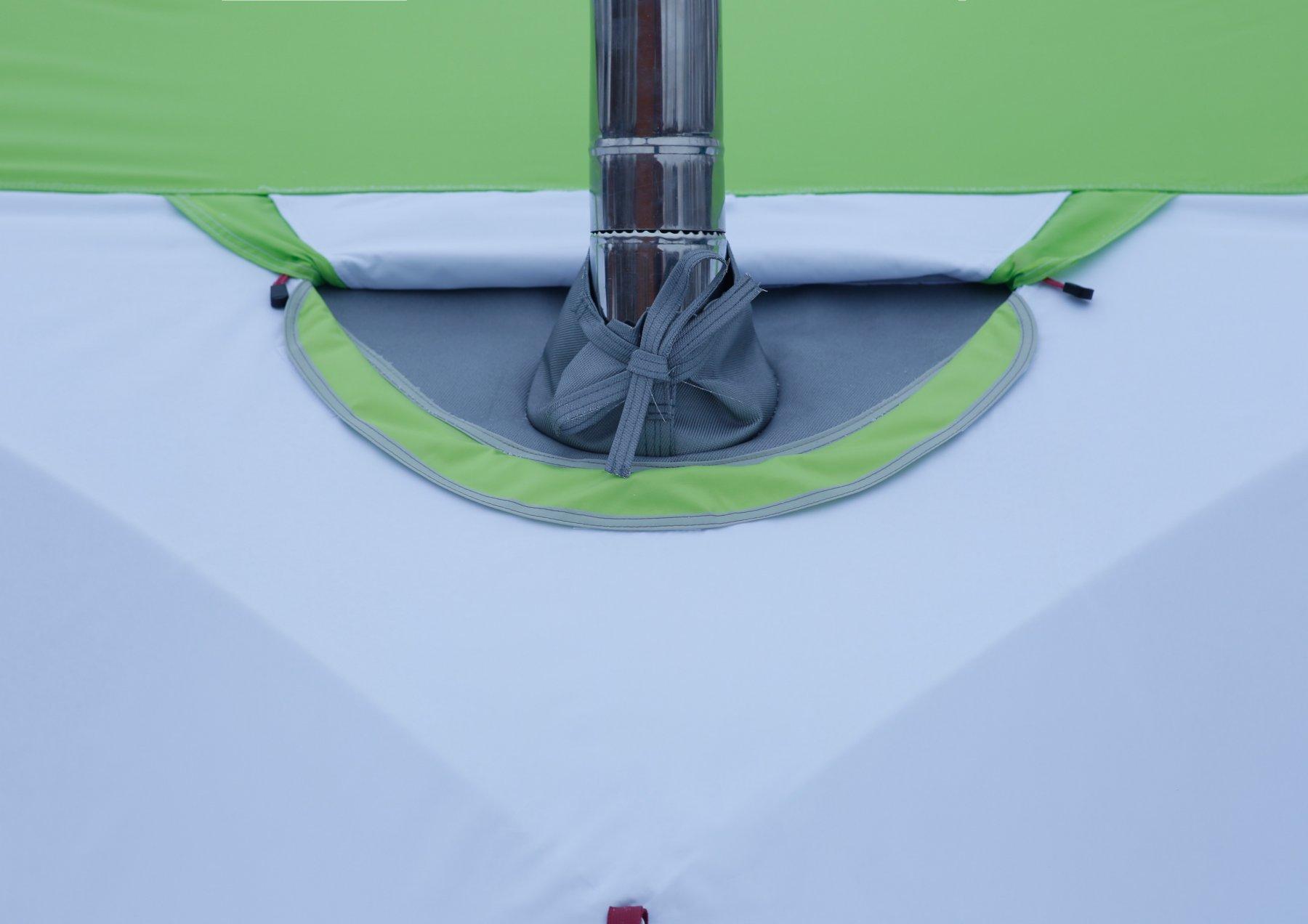 Клапан огнеупорный для палаток серии ЛОТОС Куб (кремнезем 1000°С) 07059