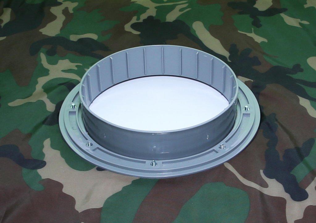 Фланец для отверстия под лунку ЛОТОС 200 (комплект 3 шт) 04015