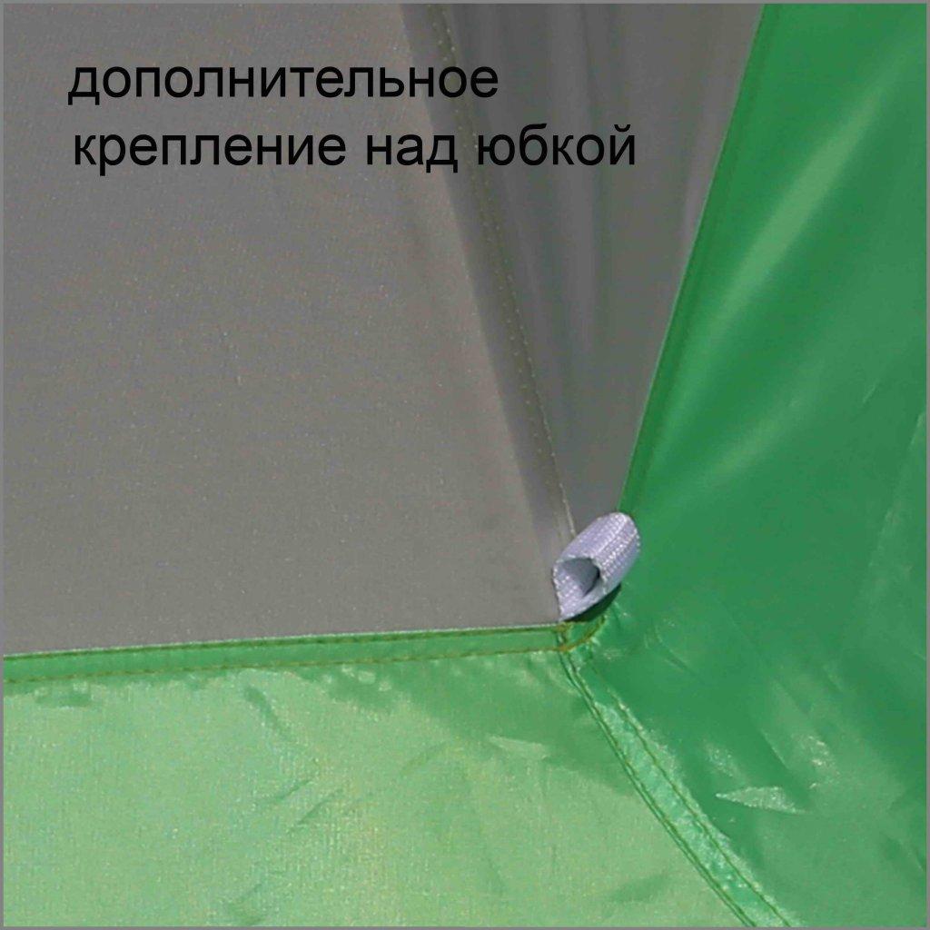 дополнительное крепление над юбкой на зимней палатке ЛОТОС 3