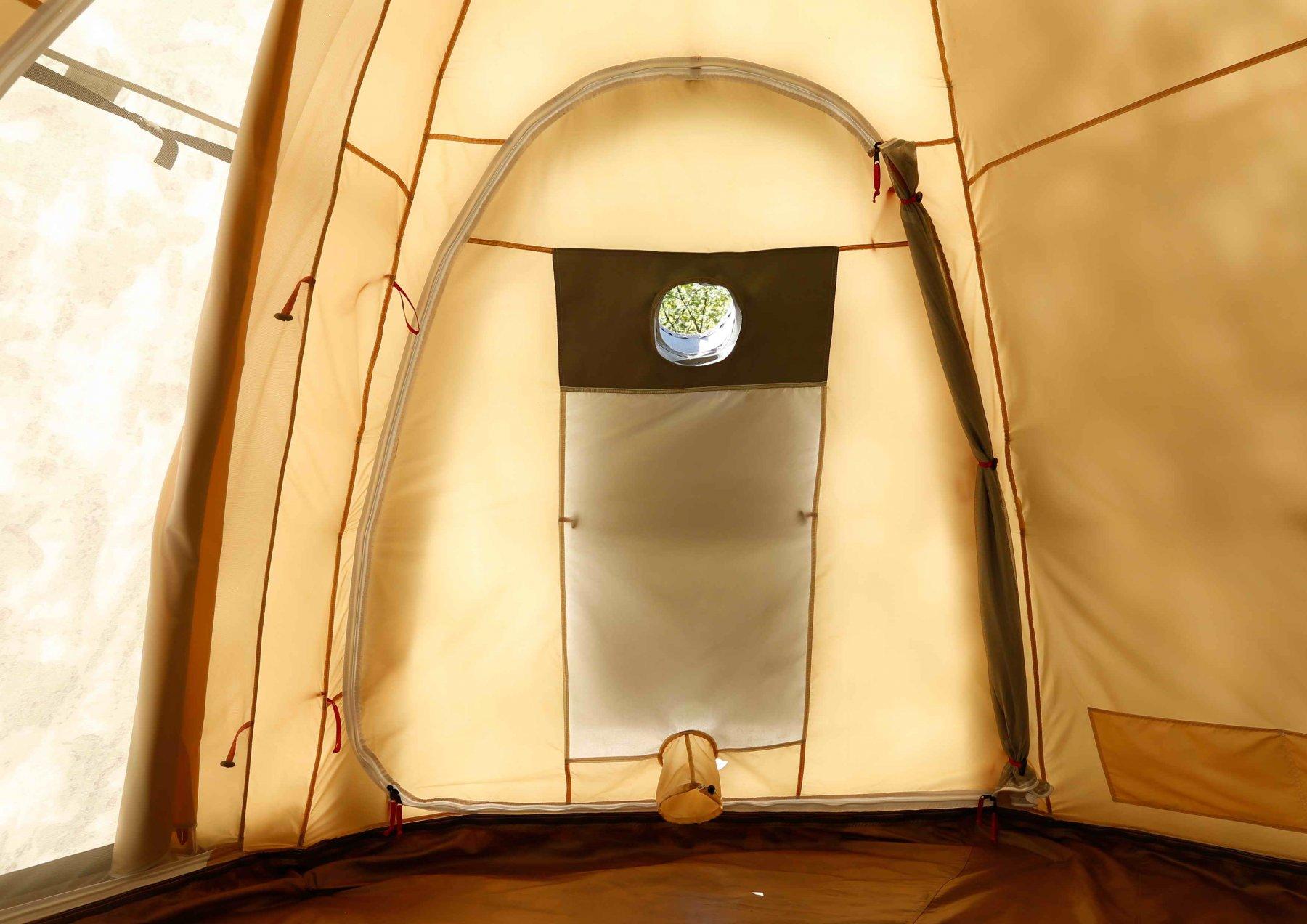 Универсальная палатка ЛОТОС 5У (Д-образный вход изнутри)