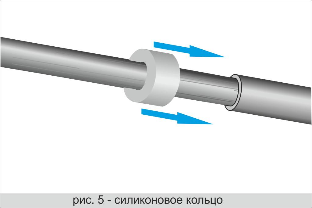 Силиконовое кольцо для телескопической дуги ЛОТОС Куб М2