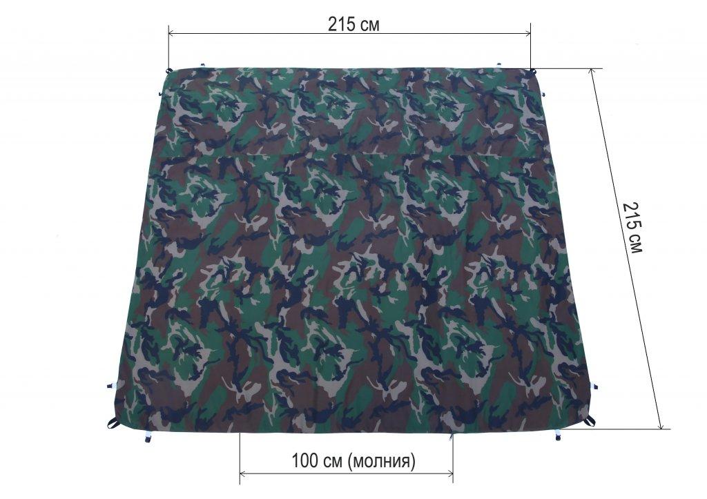 пол утепленный ЛОТОС Куб 210х210 ПУ4000 для зимней палатки