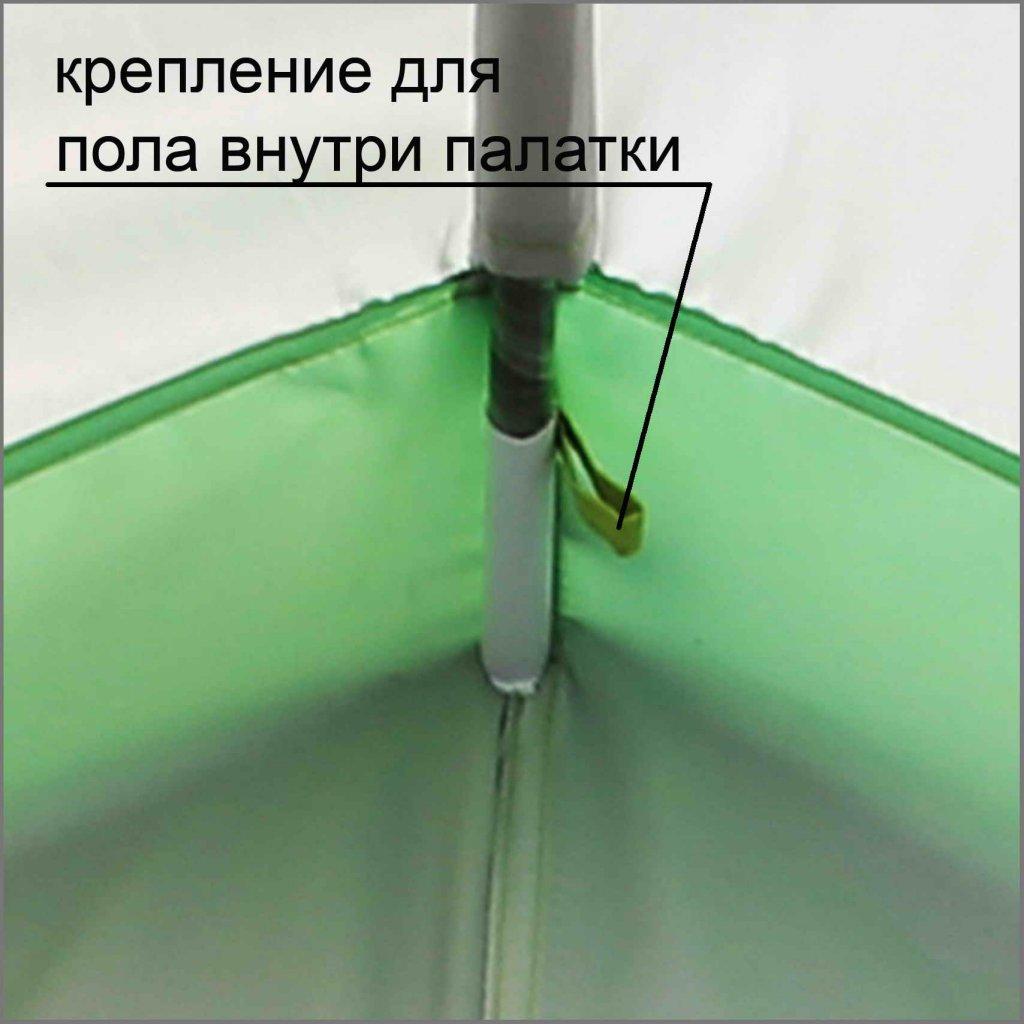 крепление для пола внутри палатки ЛОТОС 3