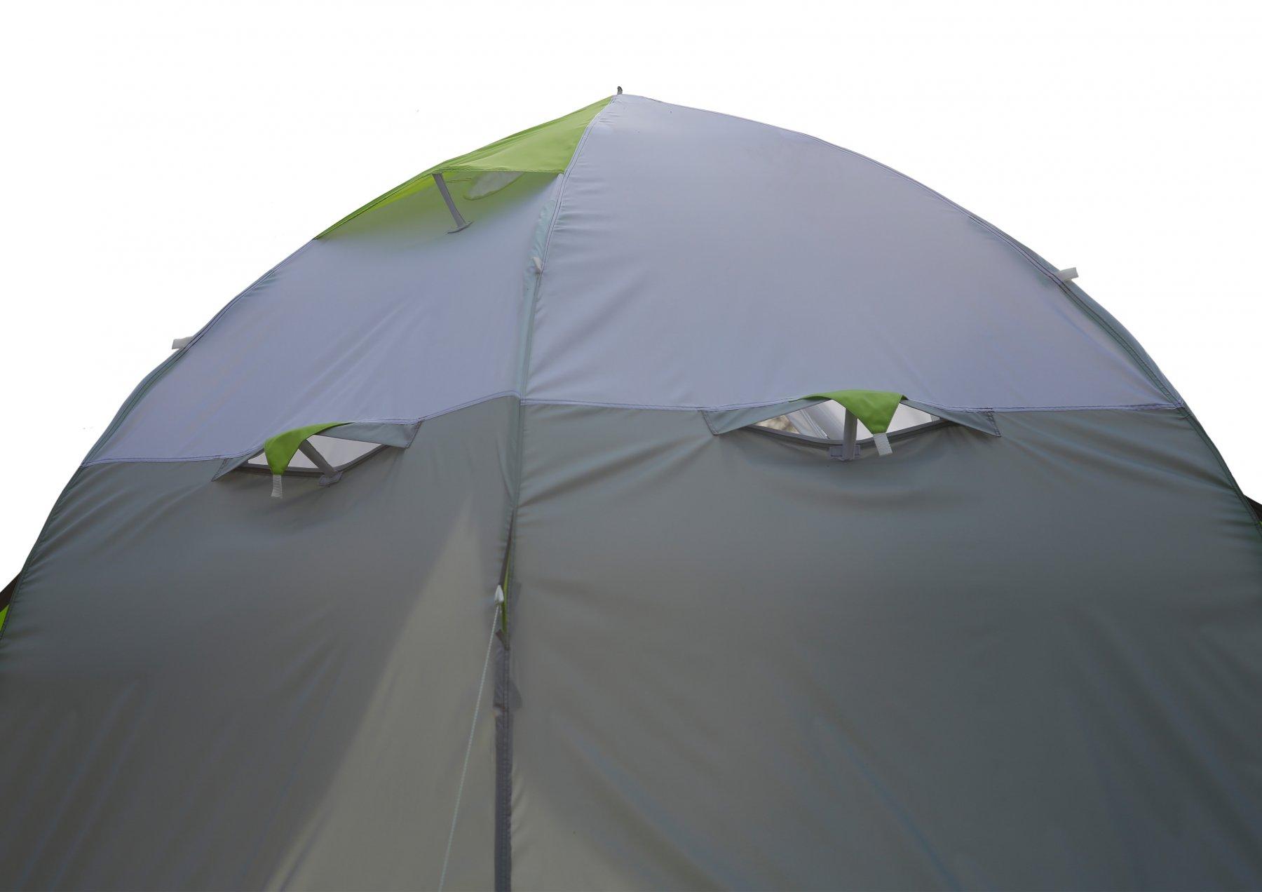 Полуавтоматическая зимняя палатка ЛОТОС 3 (окошки)