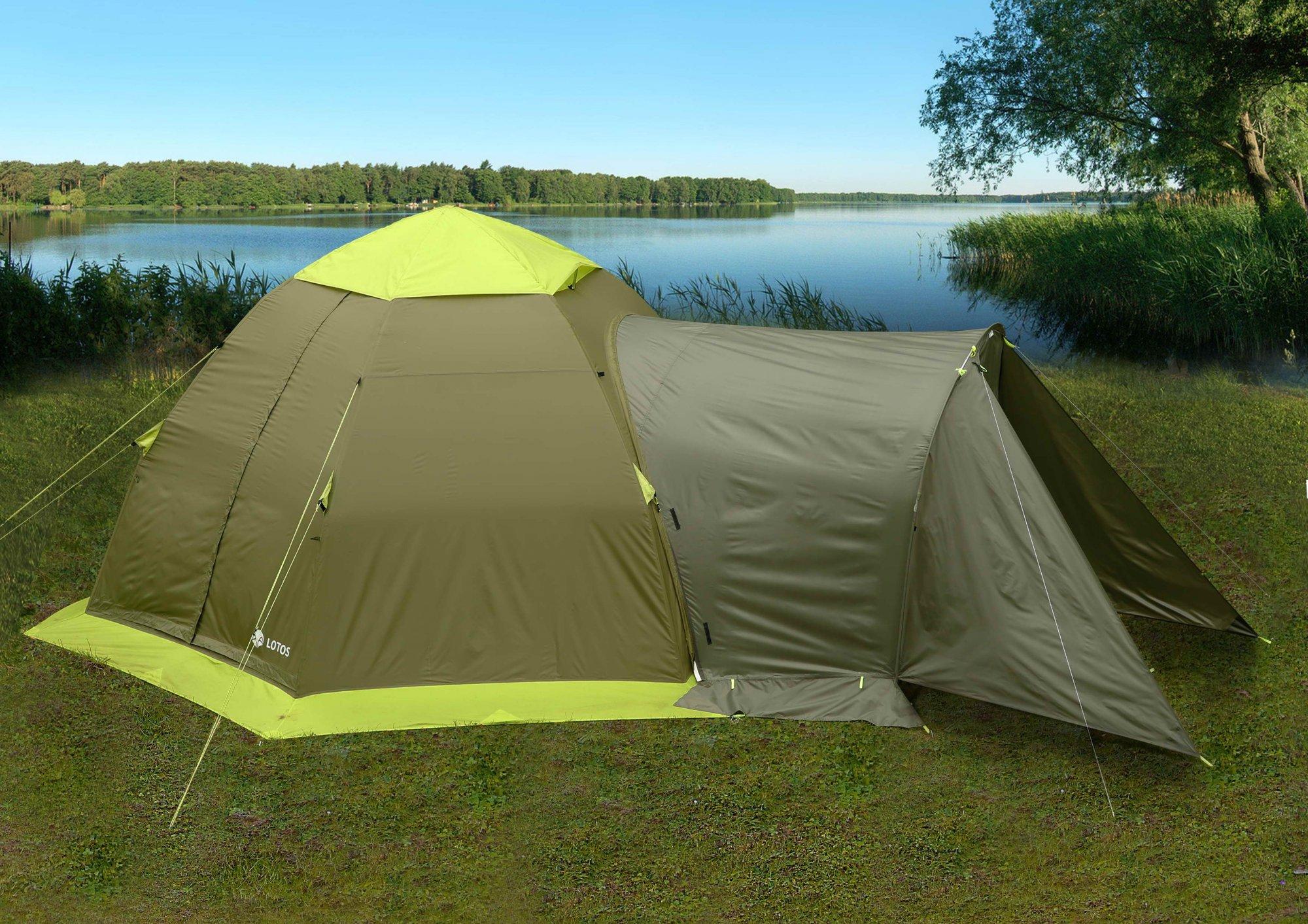 Тамбур для туристической палатки ЛОТОС 5 Универсал