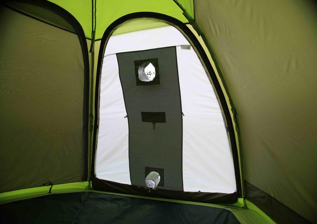 Стенка огнеупорная на палатке ЛОТОС 3 Саммер (вид изнутри)