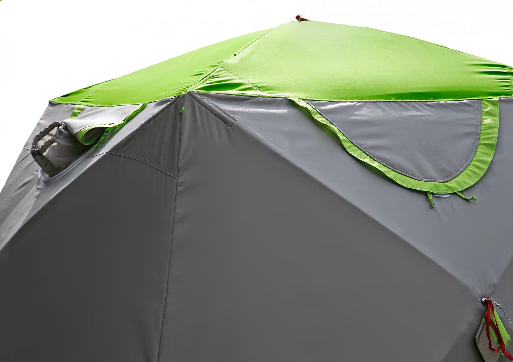 окошки Зимняя палатка ЛОТОС Куб М2 Термо