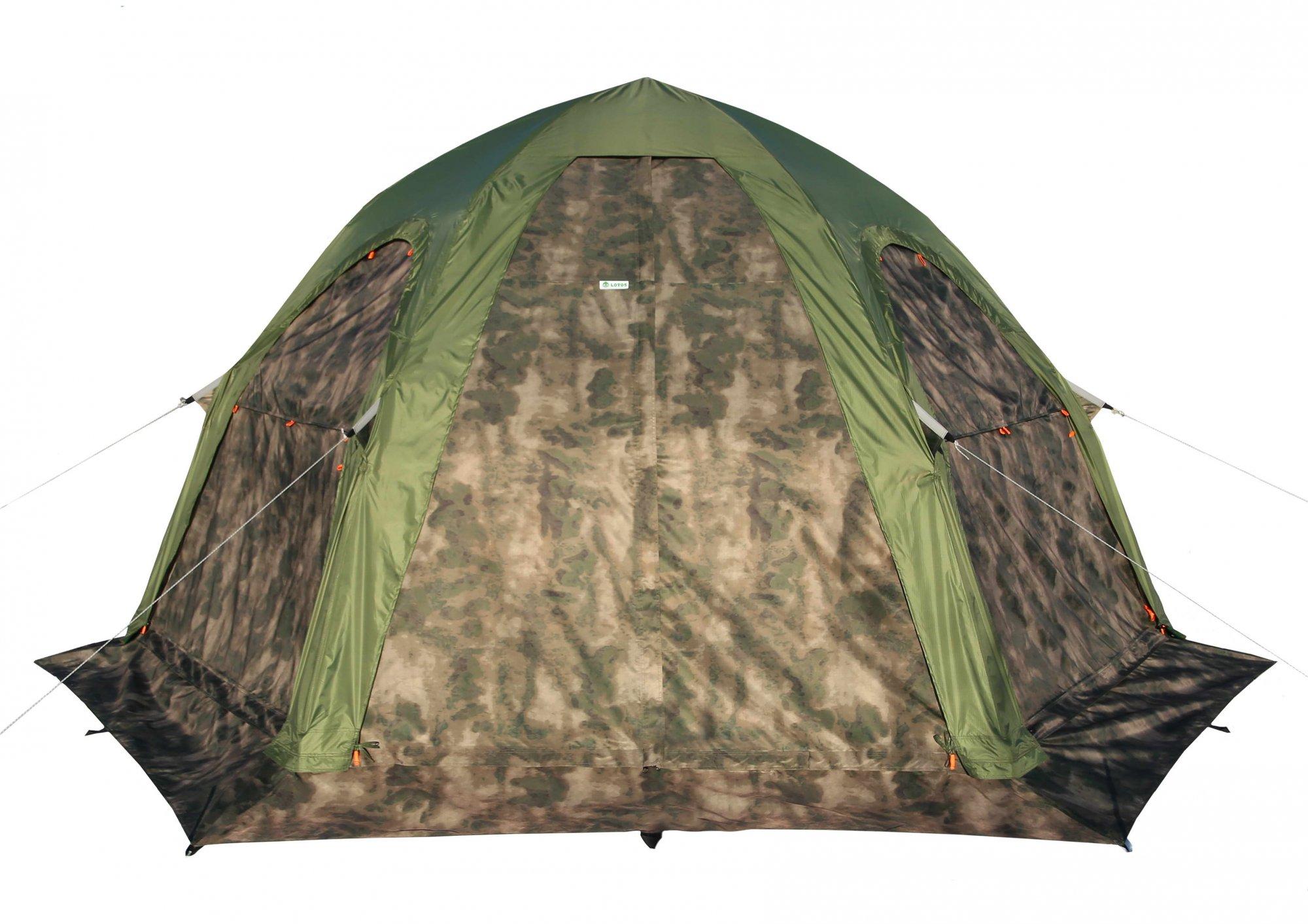 Туристическая палатка ЛОТОС 5 Универсал (кмф)
