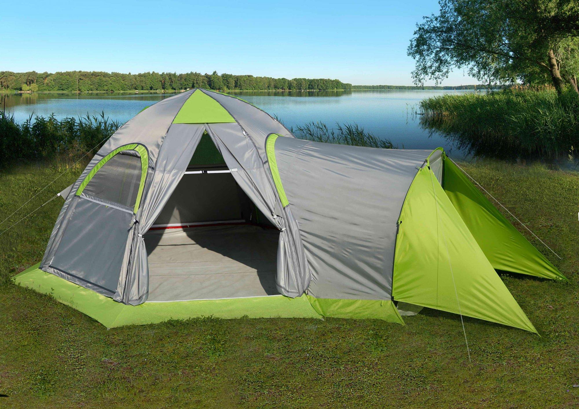 Тамбур для универсальной туристической палатки ЛОТОС 5 Универсал Спорт