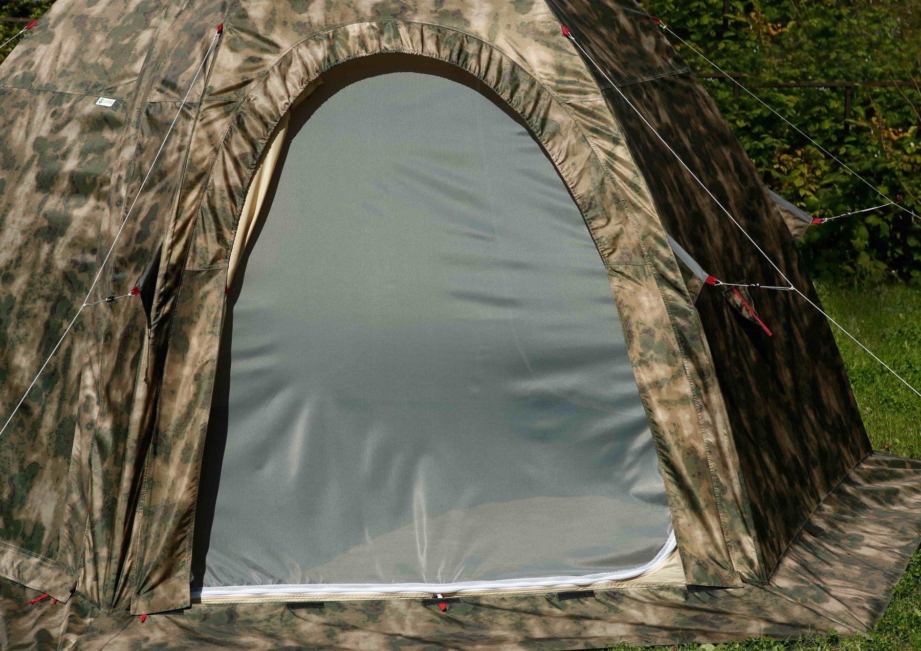 Универсальная палатка ЛОТОС 5У (Д-образная дверь)