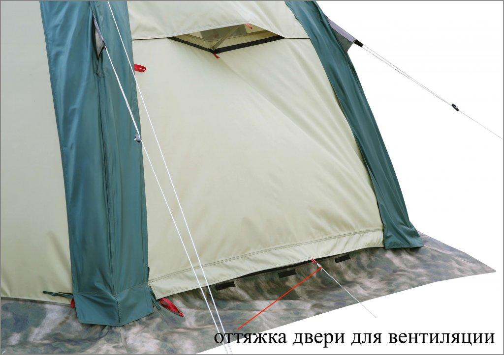 Универсальная модульная палатка ЛОТОС 5 Универсал (хаки)