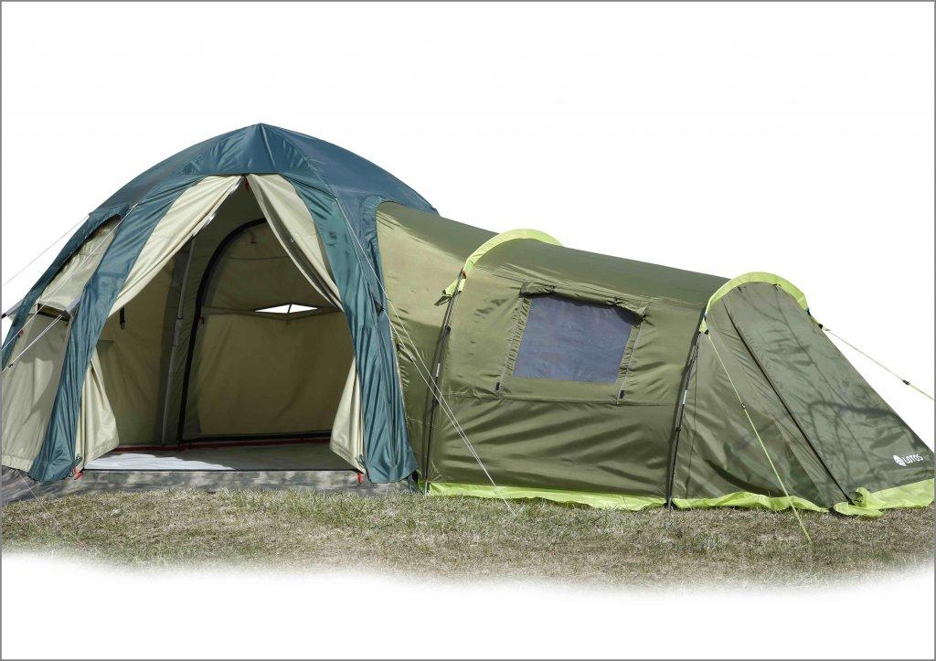 Спальный модуль пристегнутый к палатке ЛОТОС 5 Универсал (хаки)