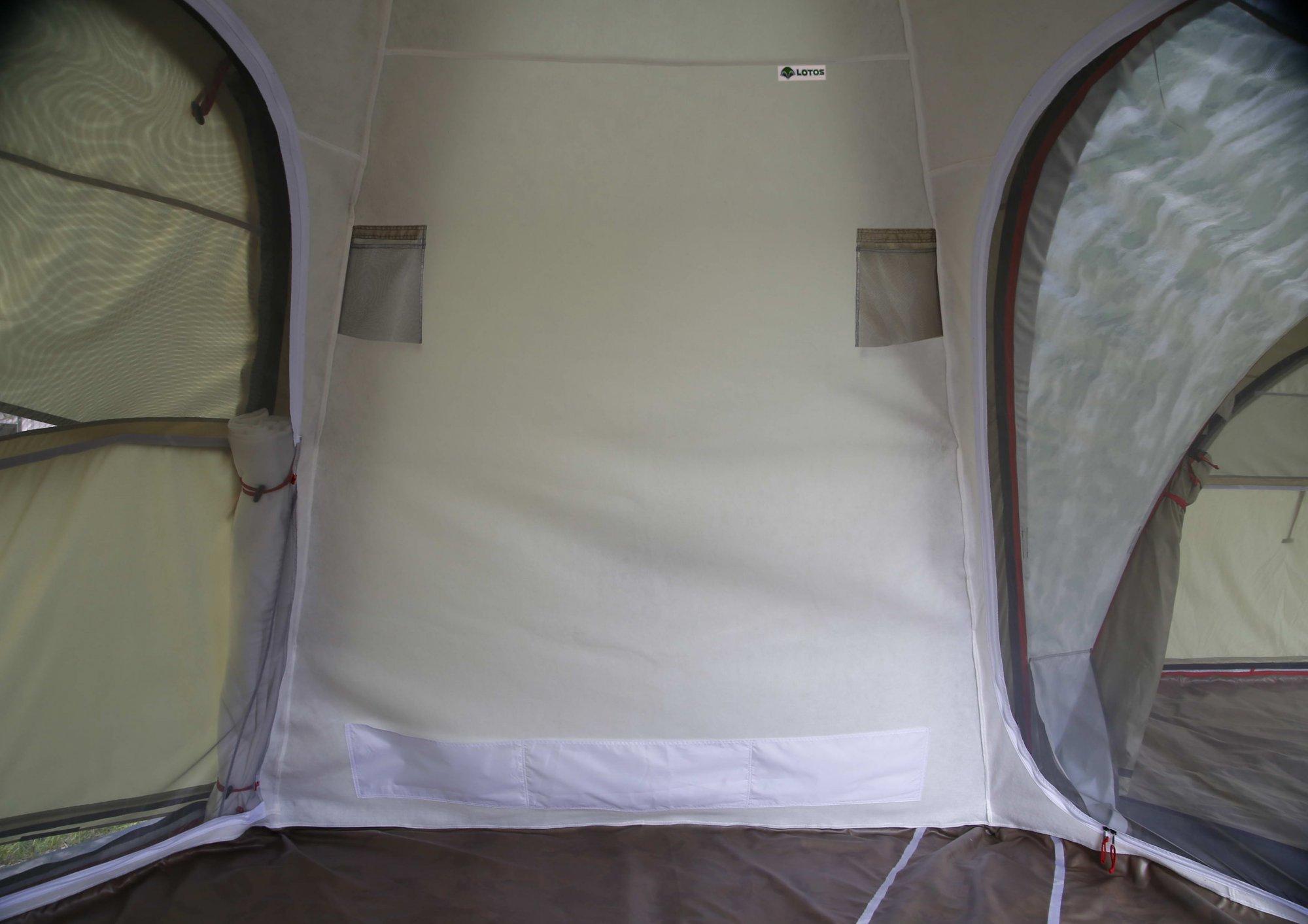 Внутренний тент-капсула утепленный ЛОТОС 5У (5-я стенка)