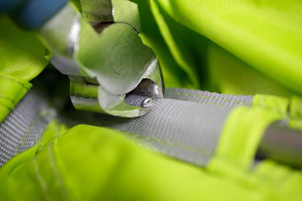 ремонт палатки клепки