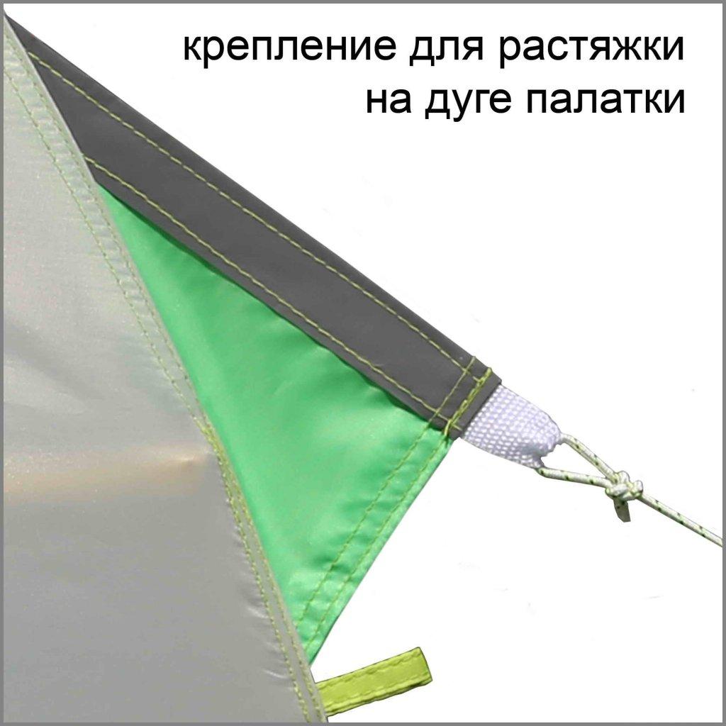 крепление для растяжки на дуге зимней палатки ЛОТОС 3
