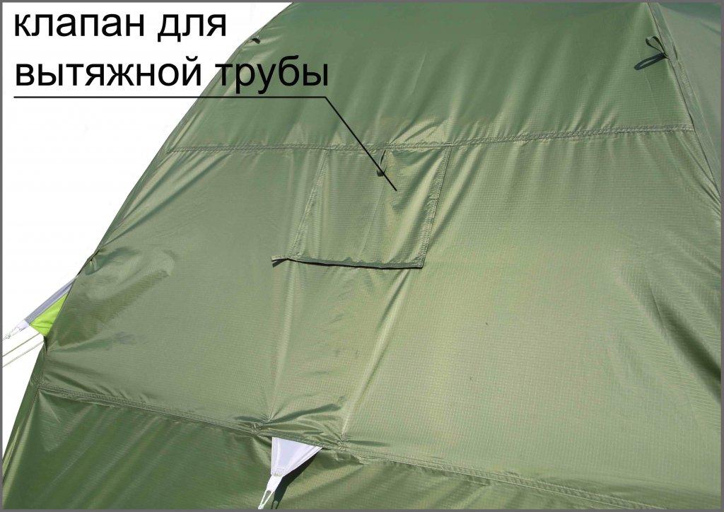 клапан для вытяжной трубы на влагозащитном тенте ЛОТОС 5У-1