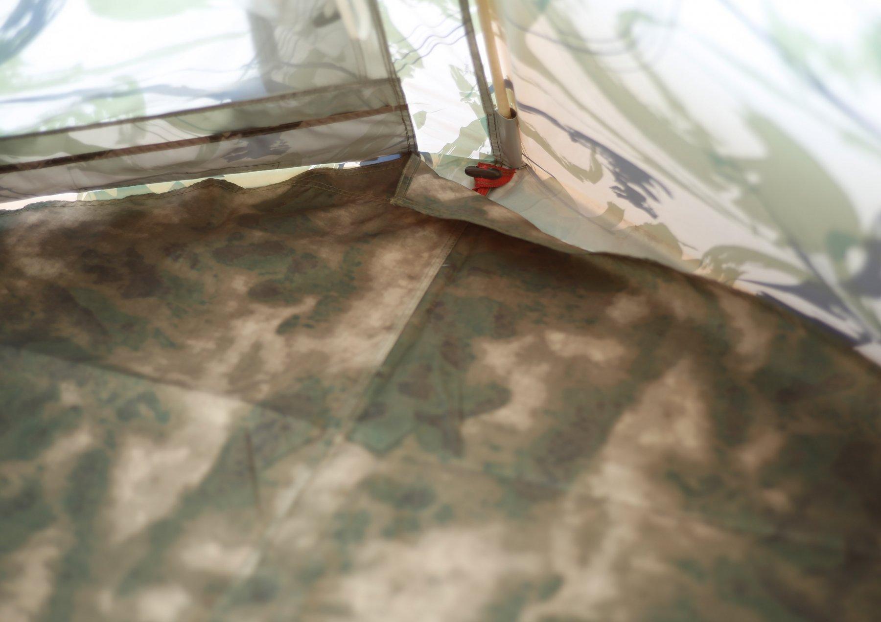 Кемпинговая палатка ЛОТОС 5 Мансарда (влагостойкий пол)