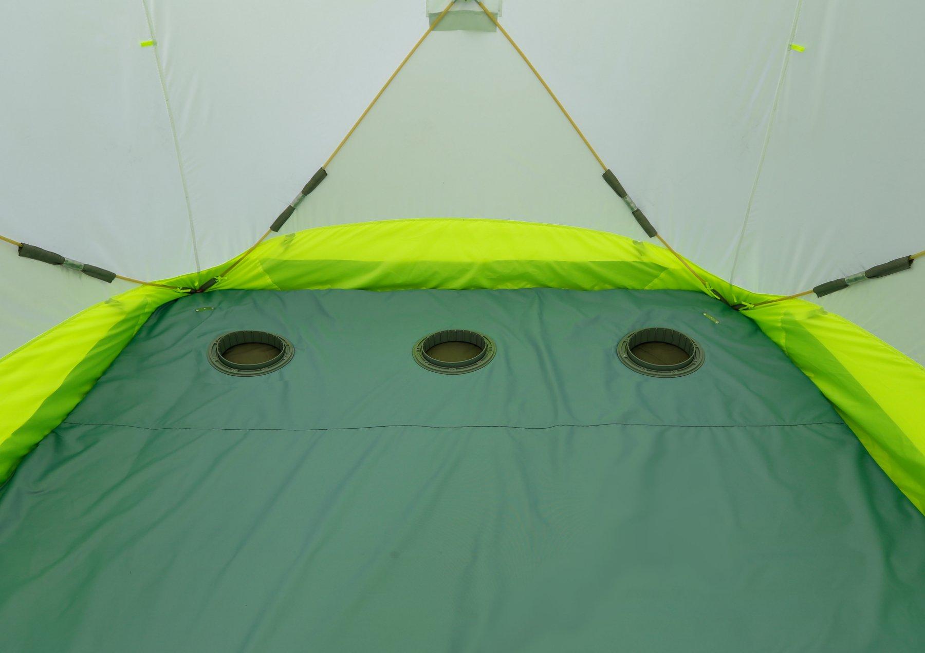 Зимняя палатка ЛОТОС Куб 3 Компакт ЭКО (гидро-термоизоляционное дно)