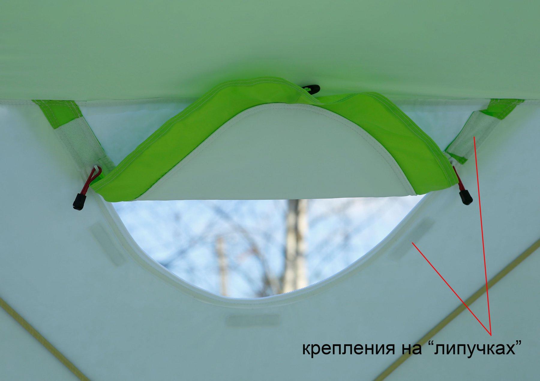 Утепленная палатка ЛОТОС Куб 3 Компакт Термо (окошко)