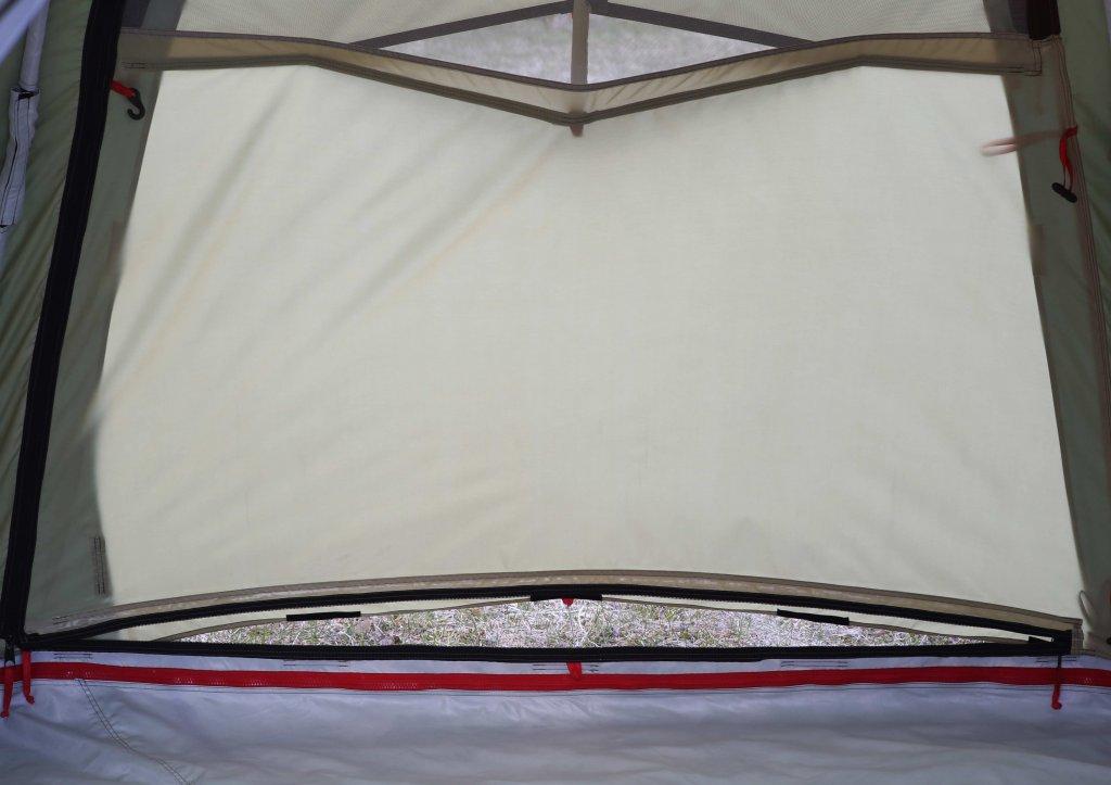 Универсальная модульная палатка ЛОТОС 5 Универсал (хаки)_система вентиляции