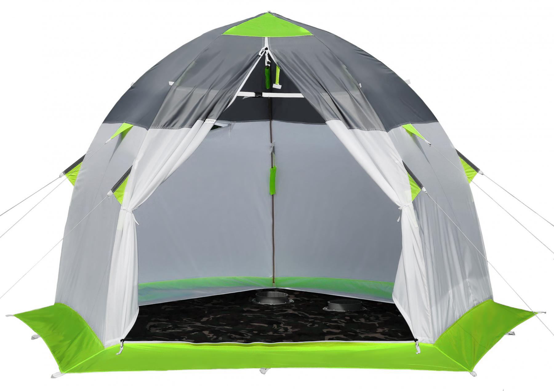 Зимняя палатка для рыбалки ЛОТОС 3 Эко