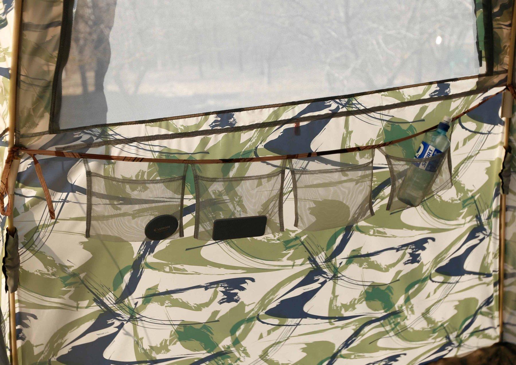 Кемпинговая палатка ЛОТОС 5 Мансарда (кармашки)