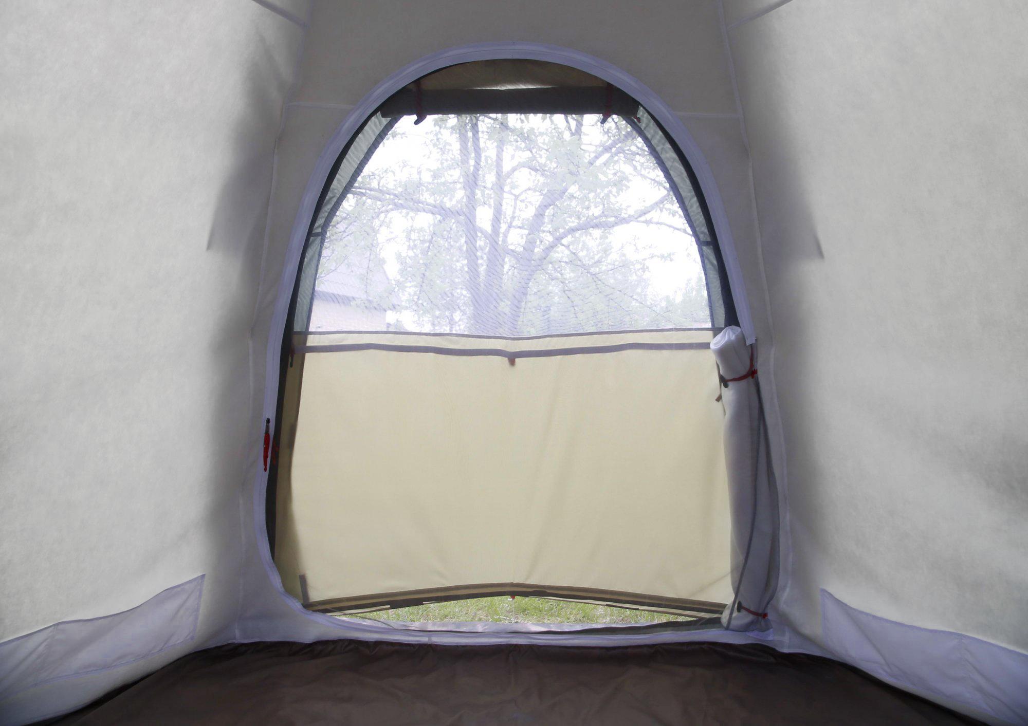 Внутренний тент-капсула утепленный ЛОТОС 5У (система вентиляции через дверной проем)