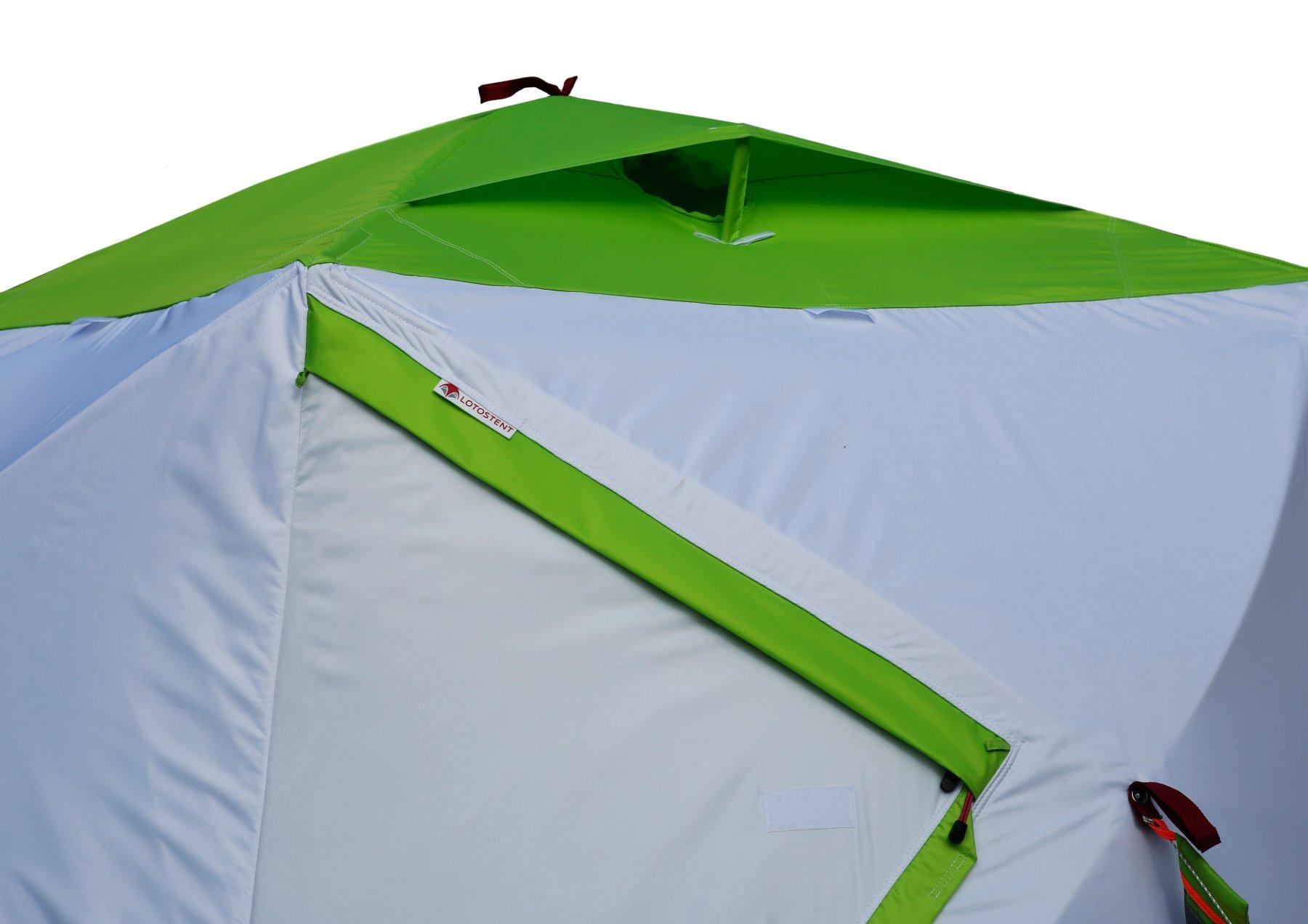 Трехслойная палатка ЛОТОС Куб 3 Компакт Термо