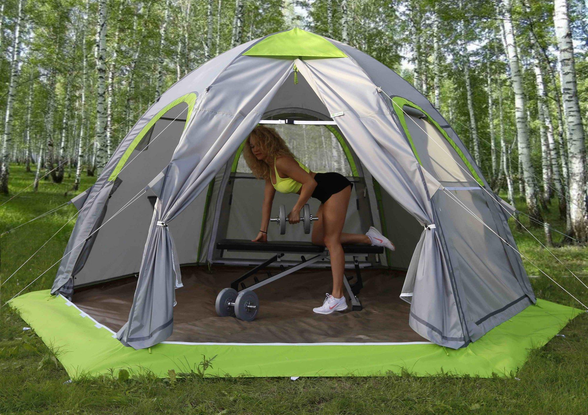 Палатка туристическая ЛОТОС 5 Универсал Спорт