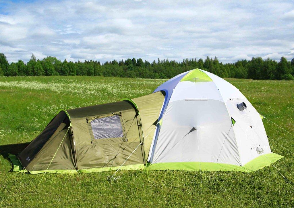 ЛОТОС 5 Универсал с пристегнутой спальной палаткой