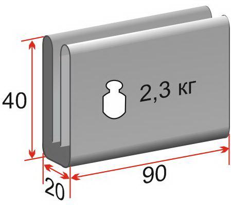 пол утепленный ЛОТОС 5 ПУ4000 (1/2 площади) размеры в сложенном виде