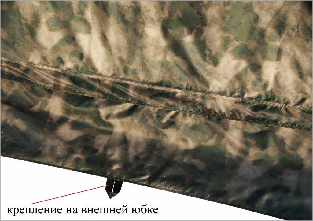 Универсальная модульная палатка ЛОТОС 5 Универсал (кмф) юбка