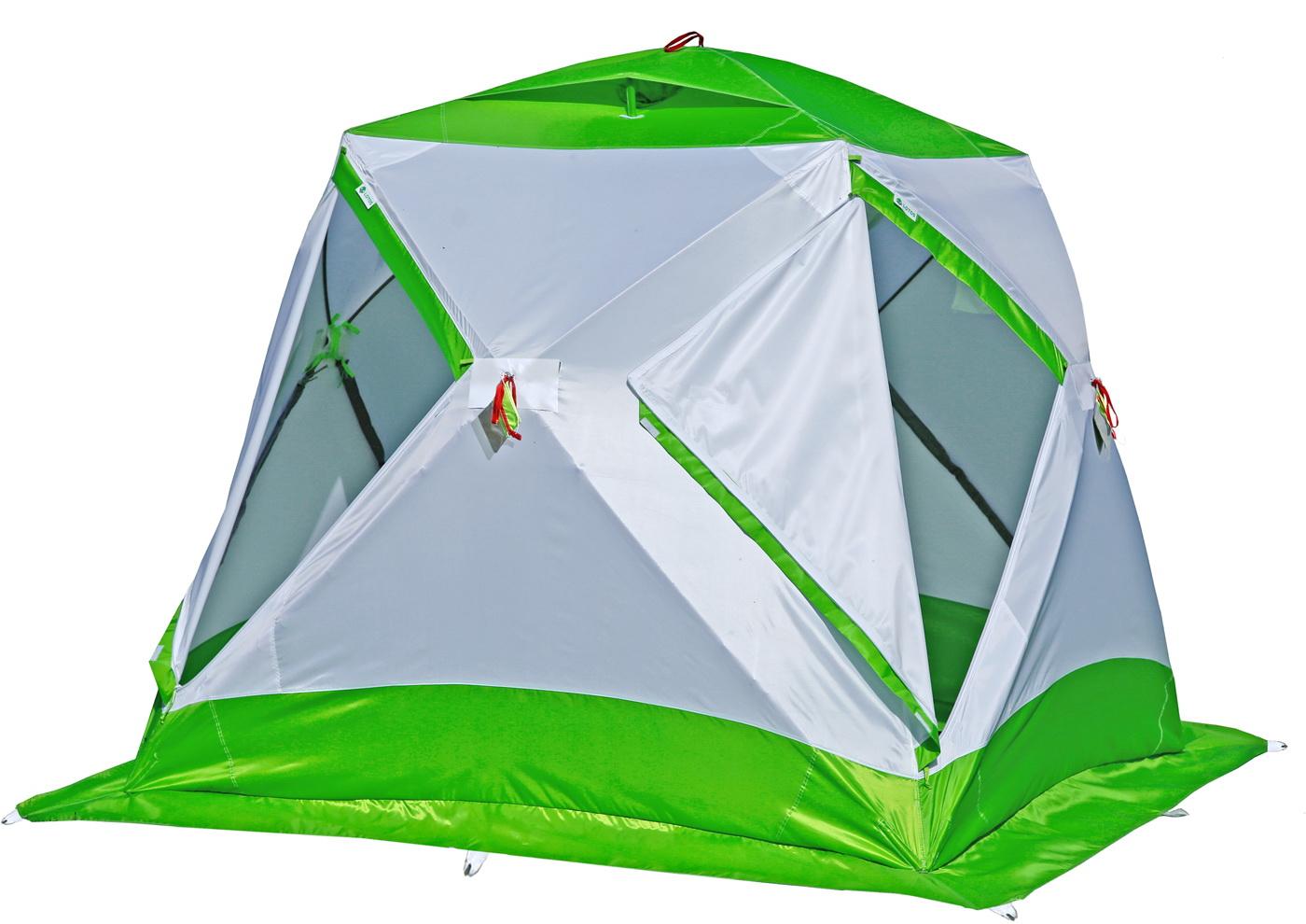 Зимняя палатка ЛОТОС Куб М2 с системой компактного сложения