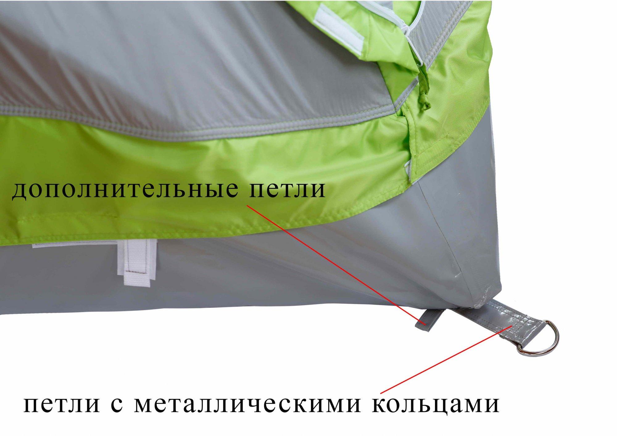 Зимняя палатка ЛОТОС Куб М2 Термо_петли крепления гидроизоляционного дна