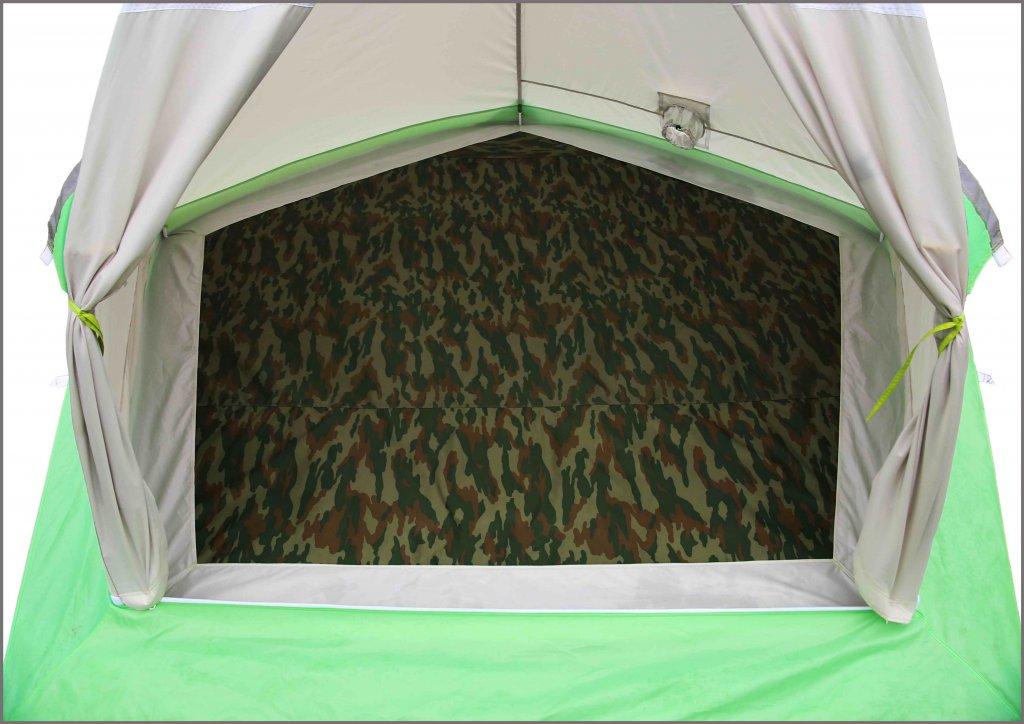 утепленный пол в палатке ЛОТОС 3 (крепление снаружи)