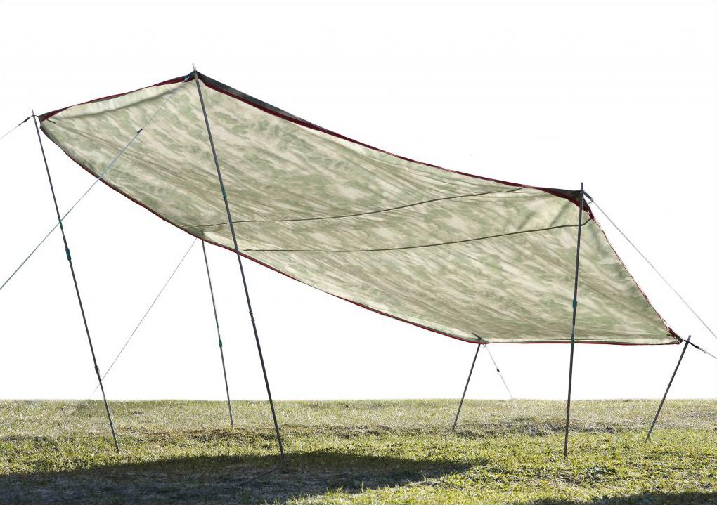 Пол влагозащитный ЛОТОС 5 Универсал (используется в качестве навеса от дождя и солнца)